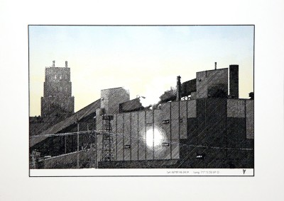 Empaysage; zone #1, 41 x 55 cm, 2016