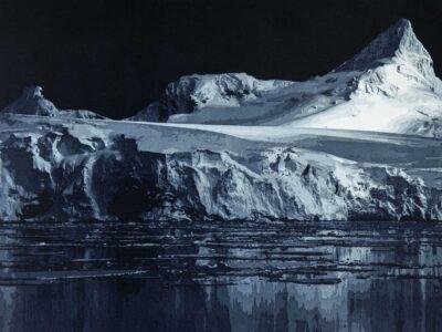 Dis-location; glacier 6, 61 x 51 cm, 2018, VENDU