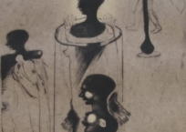 Rencontres, 65 x 50 cm, 2000