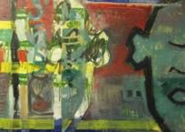 Sans titre, 60 x 60 cm, 1998