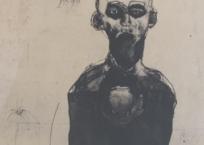 Qui est modeste, 56 x 75 cm, 1992