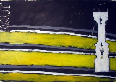 Août (2), 80.5 x 121 cm, 1989