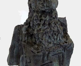 Hibou-roc, 55 x 45 x 24 cm, 1970