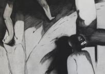 Trois personnages, 120 x 80 cm, 1988