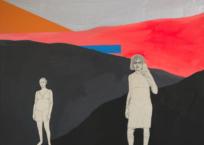 Volcan, 76 x 76 cm, 2019