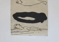 Homme et poisson, 56 x 38 cm, 1993