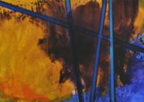 Peinture no. 598, 100 x 250 cm, 2010, SOLD