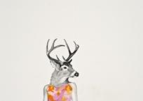 Femme-cerf, 46 x 30.5 cm, 2012, VENDU