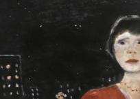 Personnage dans la nuit, 62 x 51 cm, 1978, VENDU