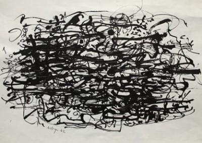 Sans titre #7, 37.5 x 54 cm, 1962, SOLD