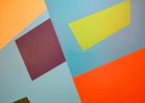 Composition trapèze vert, 80 x 100 cm, 1960, VENDU