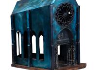 La cathédrale désaffectée , 58.4 x 51 x 23 cm, 1988