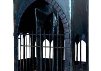 Au delà de la grille, (cathédrale désaffectée), 46 x 36 x 16 cm, 1992