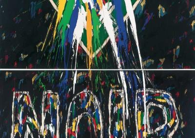 Noir, 274 x 229 cm, 1984