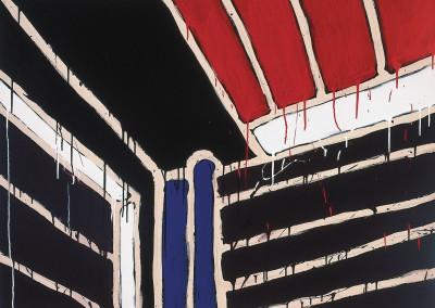 Sans titre ( Série Ma maison No.2), 101.5 x 137 cm, 1985, SOLD