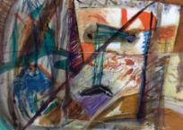 Sans titre (Série Les Masques), 55.9 × 78.7 cm, 1984
