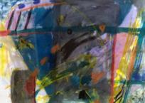 Masque d'été (Série Les Masques), 61 × 78.7 cm, 1984
