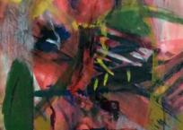 L'homme en morceaux (Série Les Masques), 76.2 × 55.9 cm, 1988