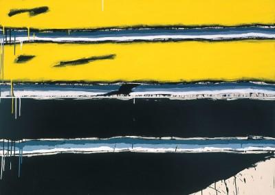 Sans titre (série assemblage No. 18), 186 x 165 cm, 1989, SOLD
