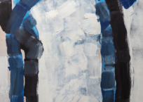F. Iso (Ficelle Iso-Rivola), 86 x 45 cm, 1971