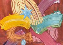 Le guide spirituel, 61 x 61 cm, 2021