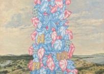 Babel no. 1, 61 x 61 cm, 2020