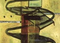 Quatre extraits sur chambre, 73 x 60 cm, 2000