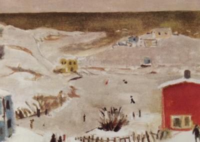 Terre-Neuve, 50 x 60 cm, 1985