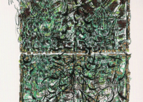 Aux aguets, 71 x 52 cm, 1980