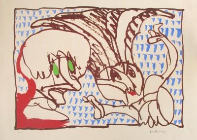 Sans titre, 42.5 x 56 cm, 1976