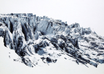 Dis-location; glacier 3, 51 x 61 cm, 2018, SOLD