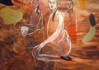 Sans titre, 198 x 198 cm, 2006