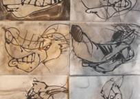 Méchant loup, 23 x 30 cm, 2010