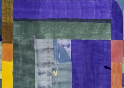 Le verrou, 107 x 163 cm, 2012-2013