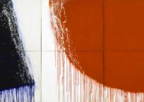 Sans titre (Série bleu blanc rouge) , 152.4 x 274.25, 1974, VENDU