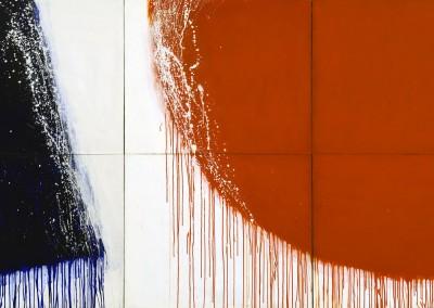 Sans titre (Série bleu blanc rouge) , 152.4 x 274.25, 1974, SOLD