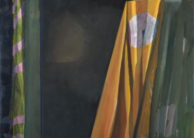 Départ d'un ami 2, 92 x 102 cm, 2013, VENDU