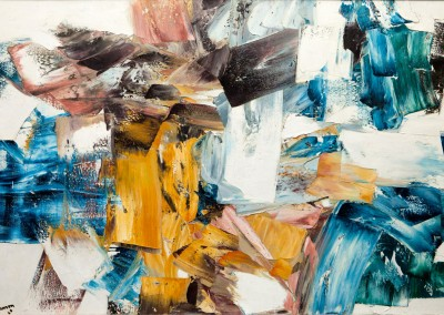 Ronqueralles, 129.5 × 195.6 cm, 1960, SOLD