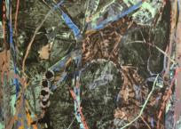 Germes IV, 137 x 117 cm, 2019