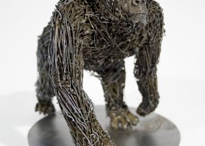 Gorille, 20 x 20 x 15 cm, 2009, SOLD