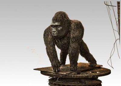 Gorille, 37 x 32 x 30.5 cm, 2014