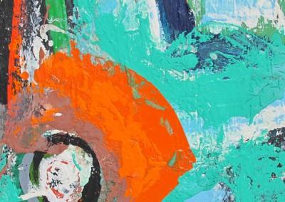 Hommage à Matisse no. 10, 30.5 x 30.5 cm, 1996-1997