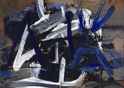 Hommage à Duras, 100 x 120 cm, 2010, VENDU
