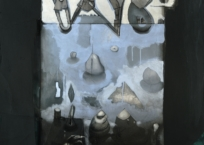 Horizons incertains IV, 115.5 x 88 cm, 2011