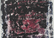 Jardin de pierres vaste II, 120 x 79.5 cm, 1993