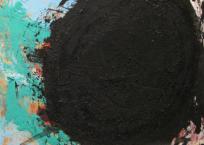 Trou noir, 61 x 61 cm, 1998