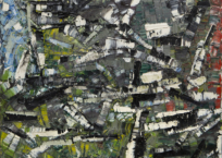 L'orage, 71 x 91.5 cm, 1956, VENDU