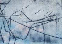 Léman, 70 x 82 cm, 2013, VENDU