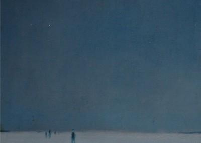 Nuit de Noël, 58.4 x 40.6 cm, 1963, SOLD