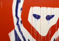 Le masque, 101 x 173 cm, 1975, SOLD